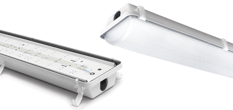 LED Vapor Tight Linear Luminaire