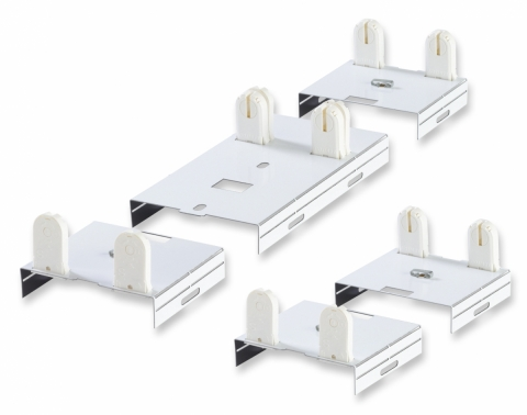 T5 and T8 Fluorescent Fixture Bracket Kits