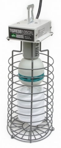 TIGRESS 105-watt CFL Temporary Luminaire