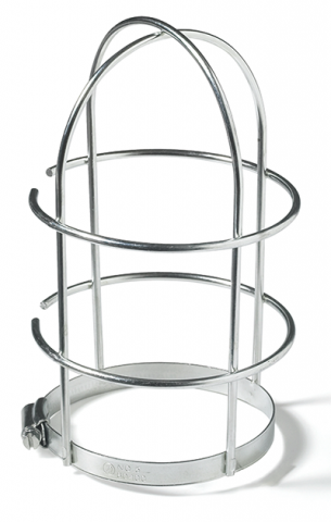 Wire Cage for Ceiling Mount Utility Luminaires