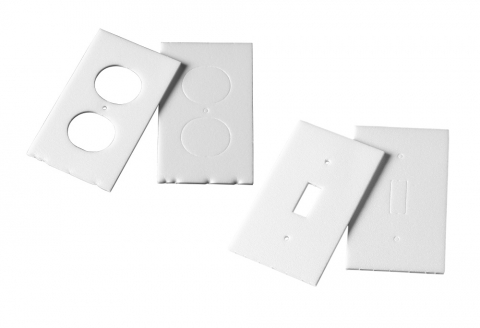 wall plate insulation gasket