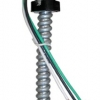 3-14 AWG Solid Wire Polycarbonate Snap In Fixture Whip