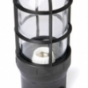 ProSeries Medium Base Luminaire with Glass Globe and Safety Cage BULK
