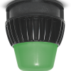 LED Utility Luminaire Upgrade with Green Lens