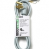 Grey 4-FT Dryer Cord