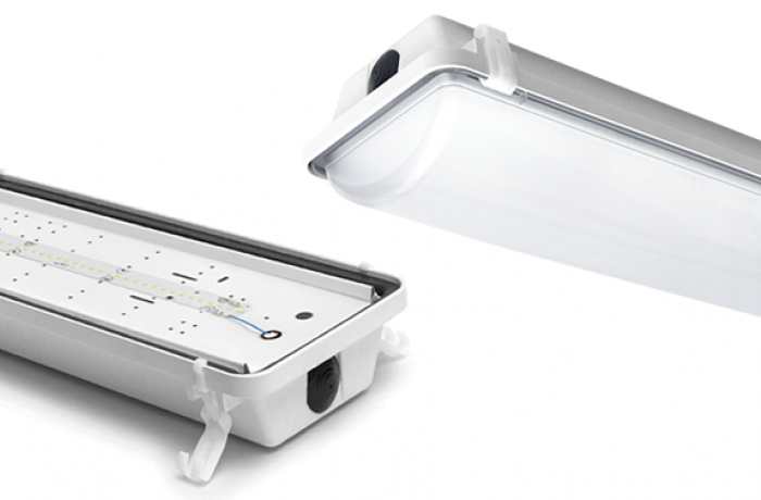 LED Vapor Tight Linear Luminaire