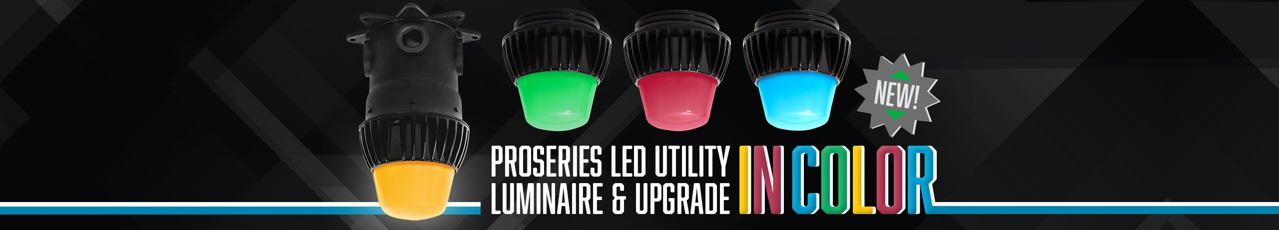 ProSeries LED Color Utility Luminaire and Upgrade