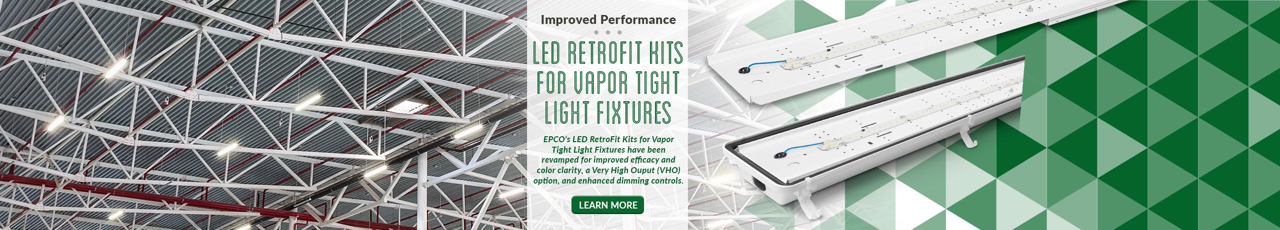 vapor tight led retrofit kits